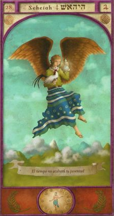 Guardian Angel Seheiah - August 7 to 12 - Overview and Prayer >>