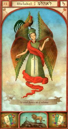 Guardian Angel Melahel - March 12 to 16 - Overview and Prayer >>